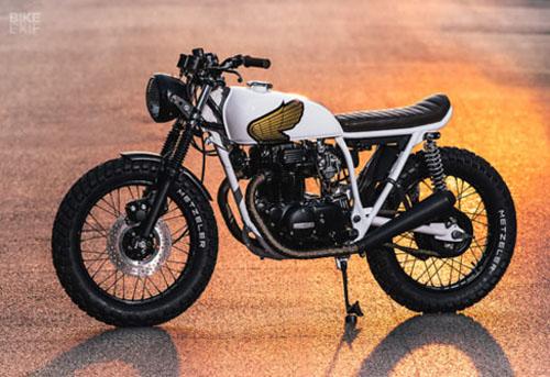 """""""Mê mệt"""" với bản độ Honda CB360T 1976 tặng bạn gái - 6"""