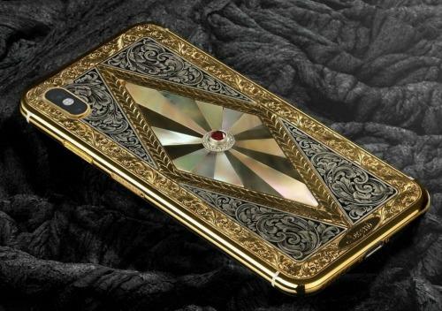Nếu iPhone X chưa đủ ngầu, mua ngay iPhone X Legend nạm kim cương - 2