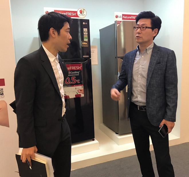 LG giới thiệu tủ lạnh mới có thêm luồng lạnh từ cánh cửa - 2