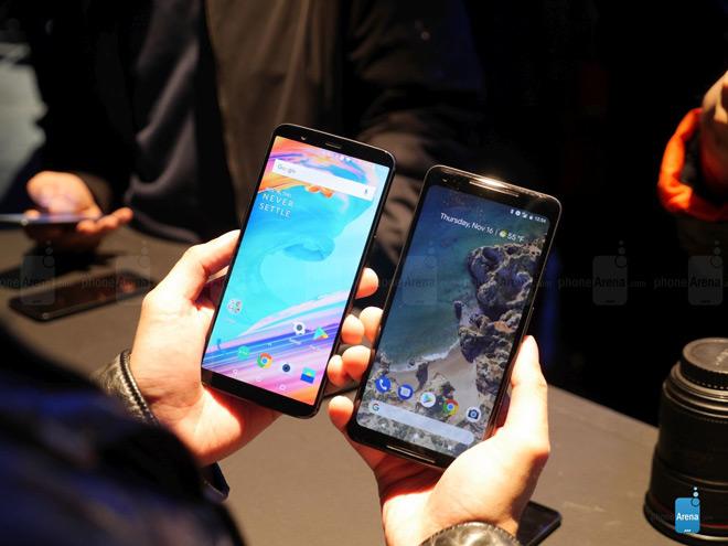 So sánh nhanh OnePlus 5T và Google Pixel 2 XL - 3