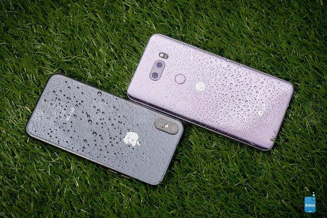So sánh iPhone X và LG V30: So đôi đũa lệch - 8