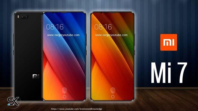 """Xiaomi Mi 7 trang bị cấu hình quá """"khủng"""", giá tầm trung - 1"""