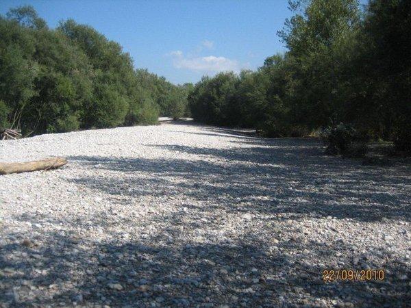 Struga reke Iške