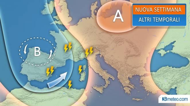 Meteo: la tendenza per la nuova settimana in Italia ed Europa