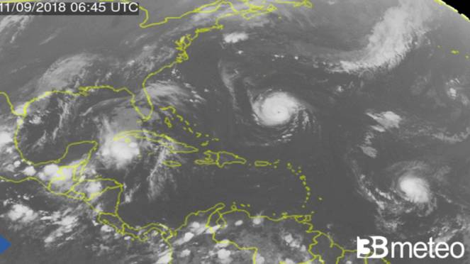 Uragano Florence si avvicina agli States