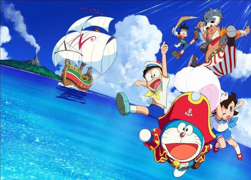 電影哆啦A夢:大雄的金銀島 Doraemon the Movie: Nobita's Treasure Island 電影介紹 - 電影神搜