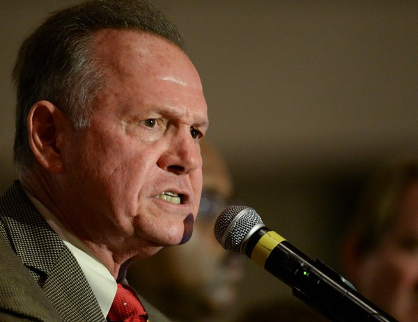 GOP Senate candidate Roy Moore (Julie Bennett/jbennett@al.com)