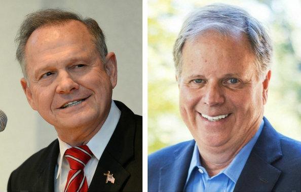 Image result for senate: Jones & Moore