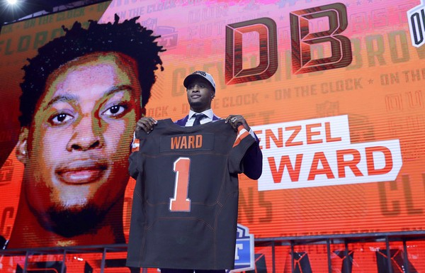 Image result for denzel ward cleveland browns