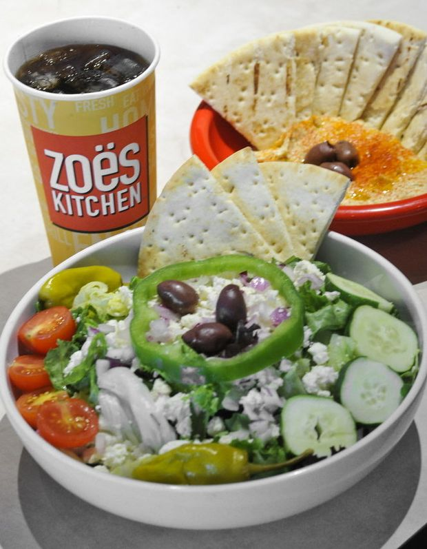 Zoes Kitchens tasty healthy fare worth the wait for