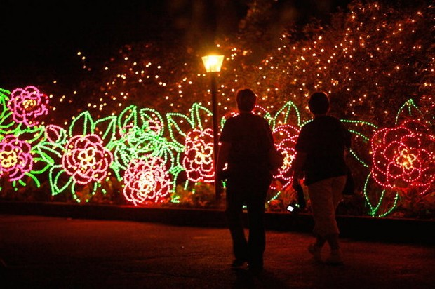 Magic Christmas In Lights Opens Nov 23 At Bellingrath