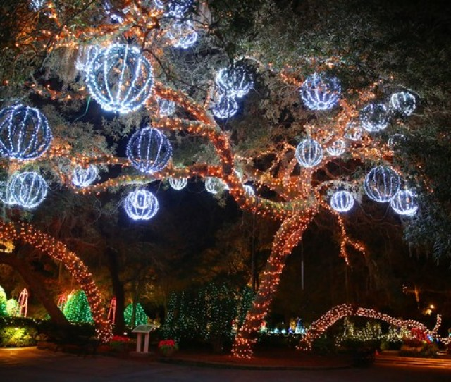 Magic Christmas In Lights Display At Bellingrath Gardens And Home In Theodore Ala