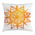Warm Colors Throw Pillow Cases Cushion Covers Home Decor 8 Sizes By Ambesonne Ebay