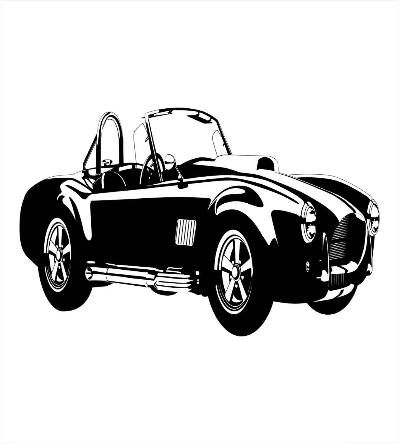 Cars Duvet Cover Set With Pillow Shams Sports Car Roadster