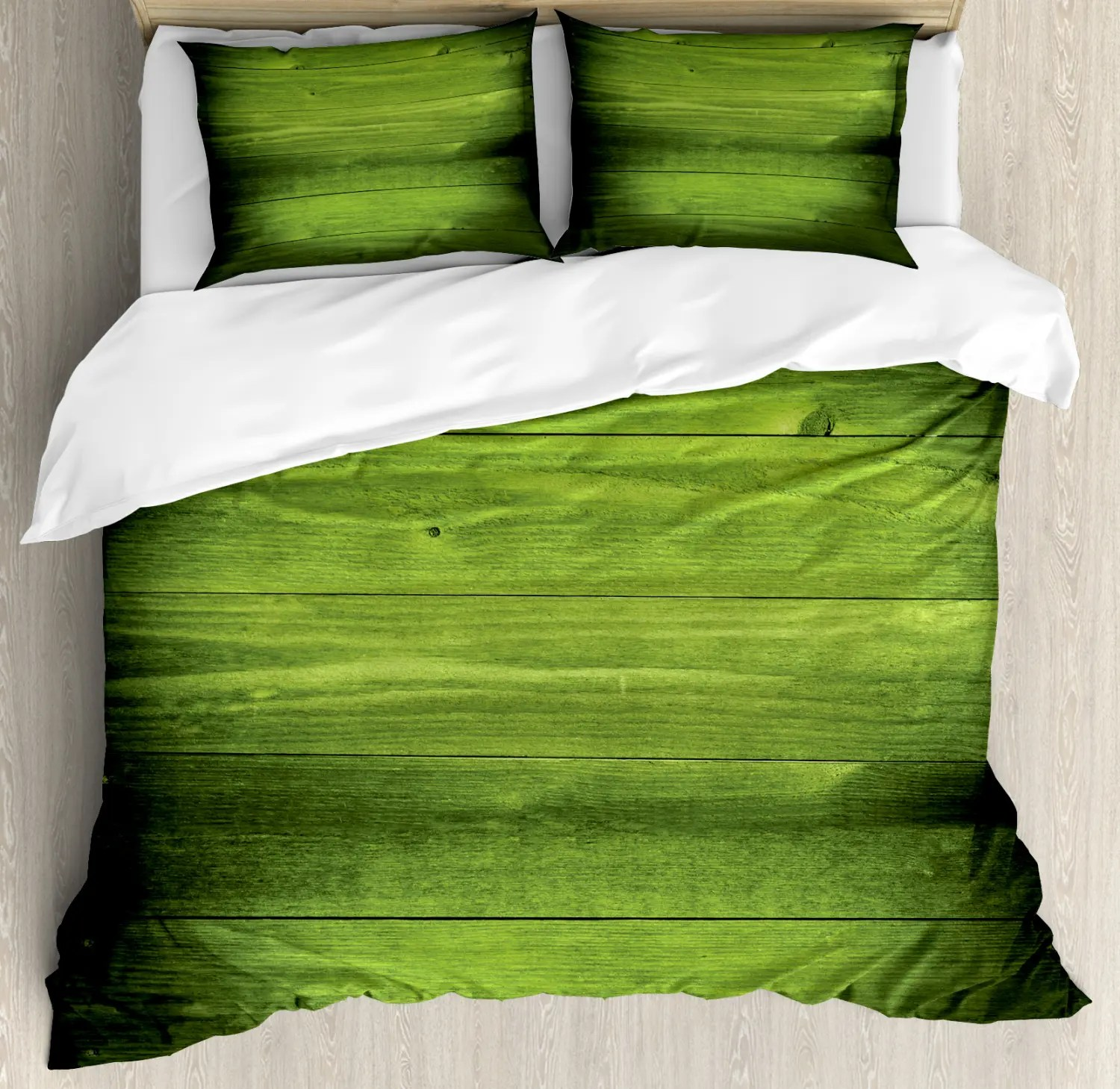 Green Ambesonne Duvet Cover Set Twin Queen King Sizes with