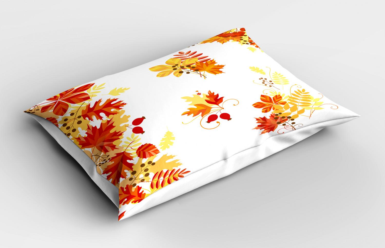 Fall Pillow Sham Decorative Pillowcase 3 Sizes Bedroom