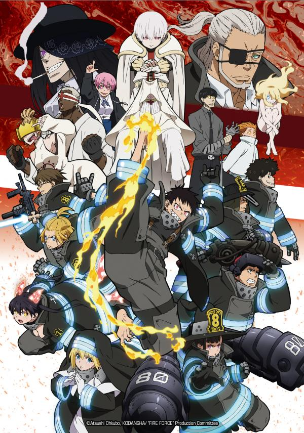 Regarder Fire Force Saison 2 anime streaming complet VF et Vostfr...