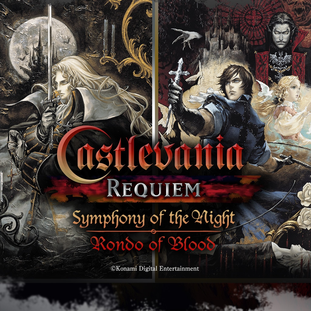 Castlevania Requiem:Symphony of the Night & Rondo of Blood (英文版)