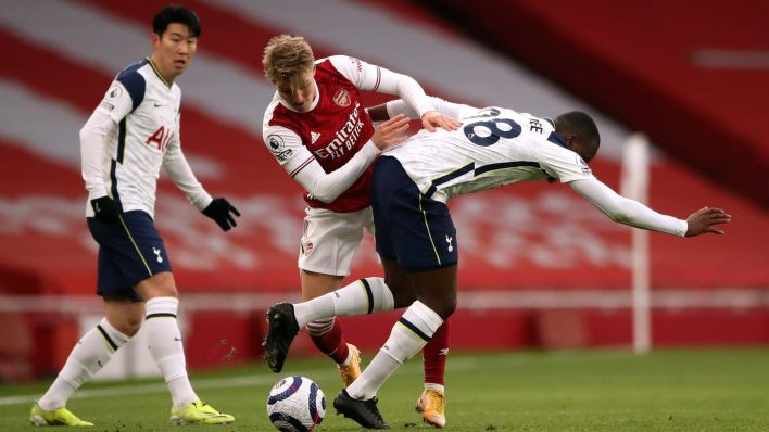 Martin Odegaard is an elite passer but has also impressed with his ability to win the ball back