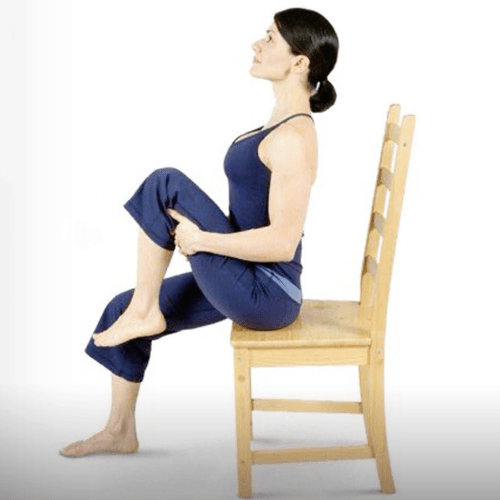 sitting down chair exercises cool chairs for tweens 7 easy flat belly you can do save