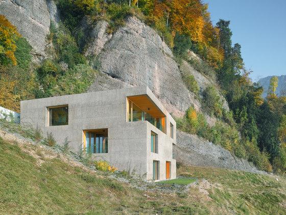 Lischer Partner Architekten Planer AG-Huse holiday house, Vitznau