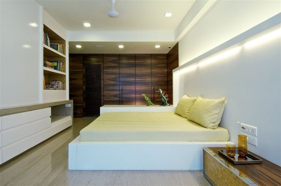 Mumbai Penthouse by Rajiv Saini  Living space