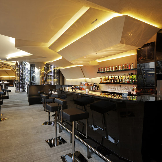 restaurant le 39 v paris par na o architectures la bulle archi design. Black Bedroom Furniture Sets. Home Design Ideas