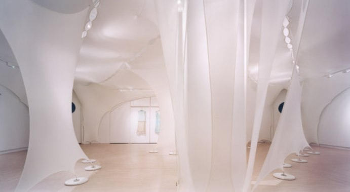 Elie Tahari Fashion Showroom by Gisela Stromeyer Design | Shop interiors by Architecture fabric