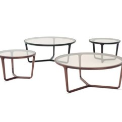 Stella Sofa Table Leather Tan Coffee Tables From Ceccotti Collezioni Architonic By