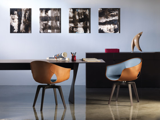 GINGER  Chairs from Poltrona Frau  Architonic