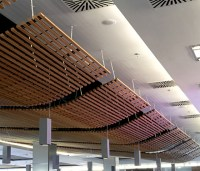 Wood Grid Ceiling by Hunter Douglas | Product