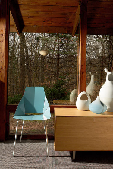blu dot real good chair farmhouse table and chairs set copper - restaurant from   architonic