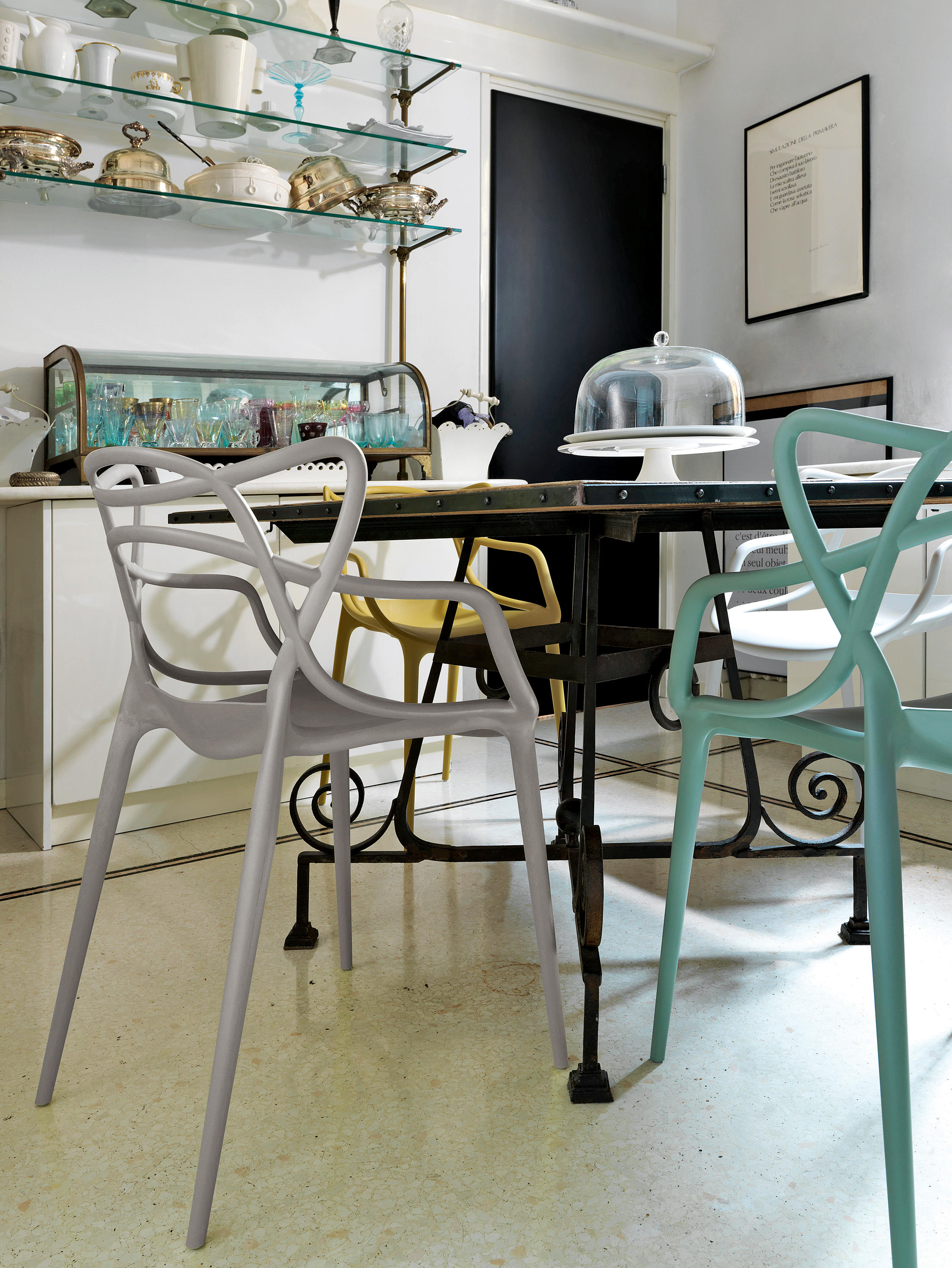 design chair kartell pottery barn hang around cover masters chairs from architonic by