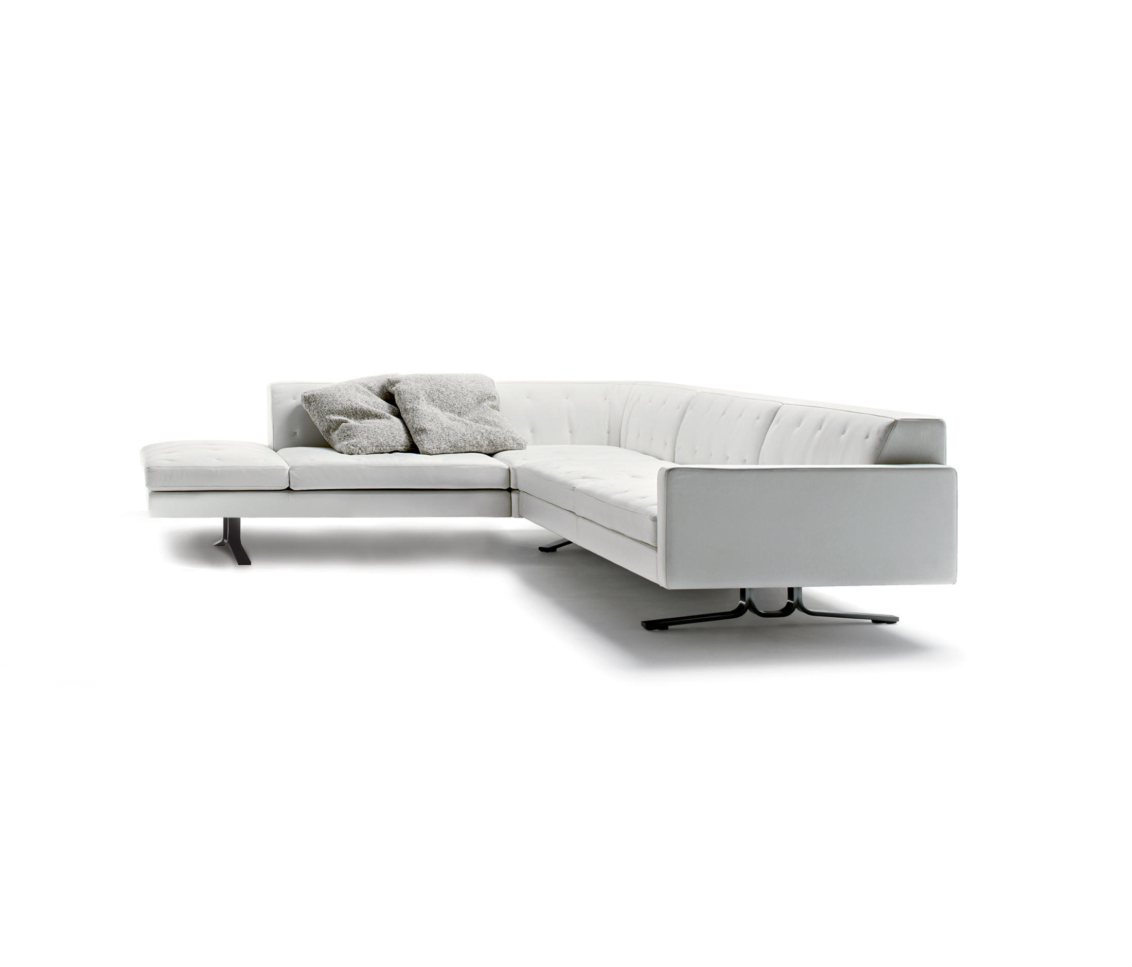 poltrona frau sofa kennedee simple bed poufs from architonic