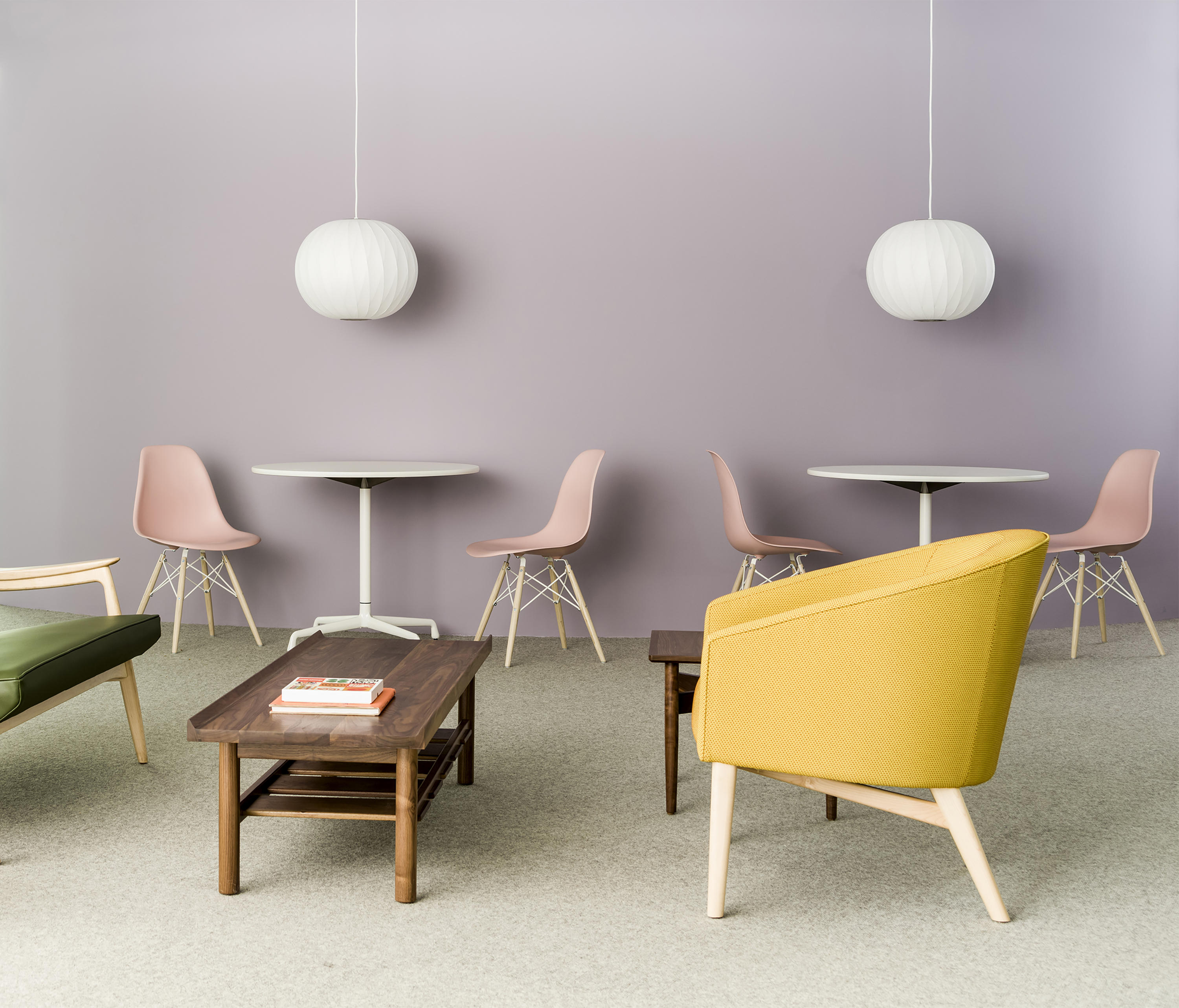 eames molded side chair oversized slipcover plastic chairs from herman miller architonic by