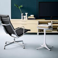 Eames Aluminum Chair Black Leather Computer Group Executive Office Chairs From Herman By Miller