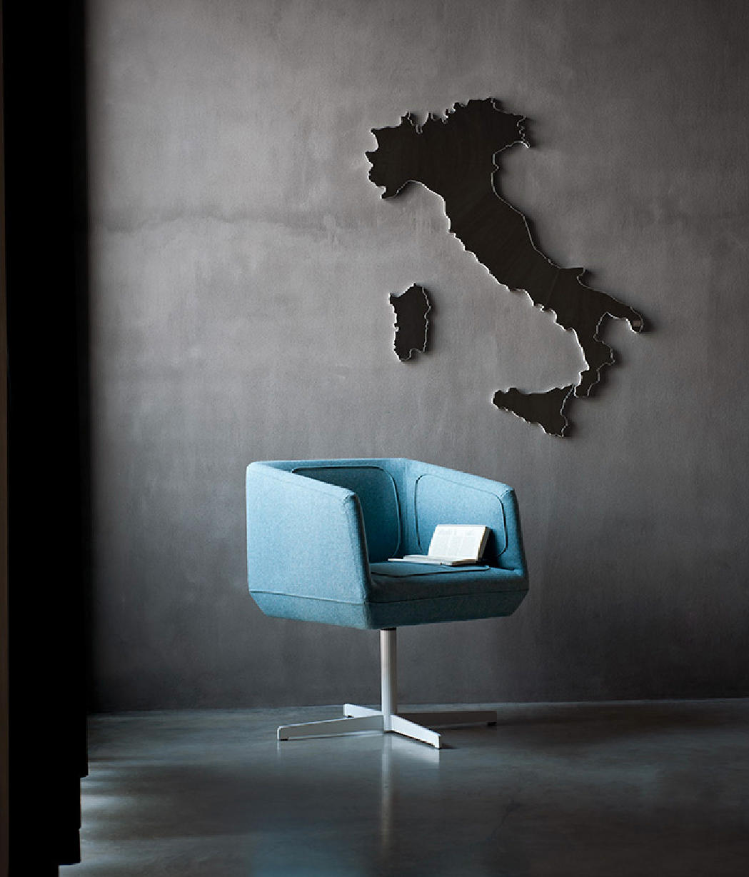 revolving chair define infant sleeper dressed lounge chairs from tacchini italia architonic