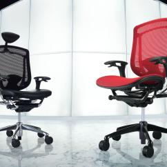 Japanese Office Chair Outdoor Patio Glider Chairs Contessa Management From Okamura Architonic