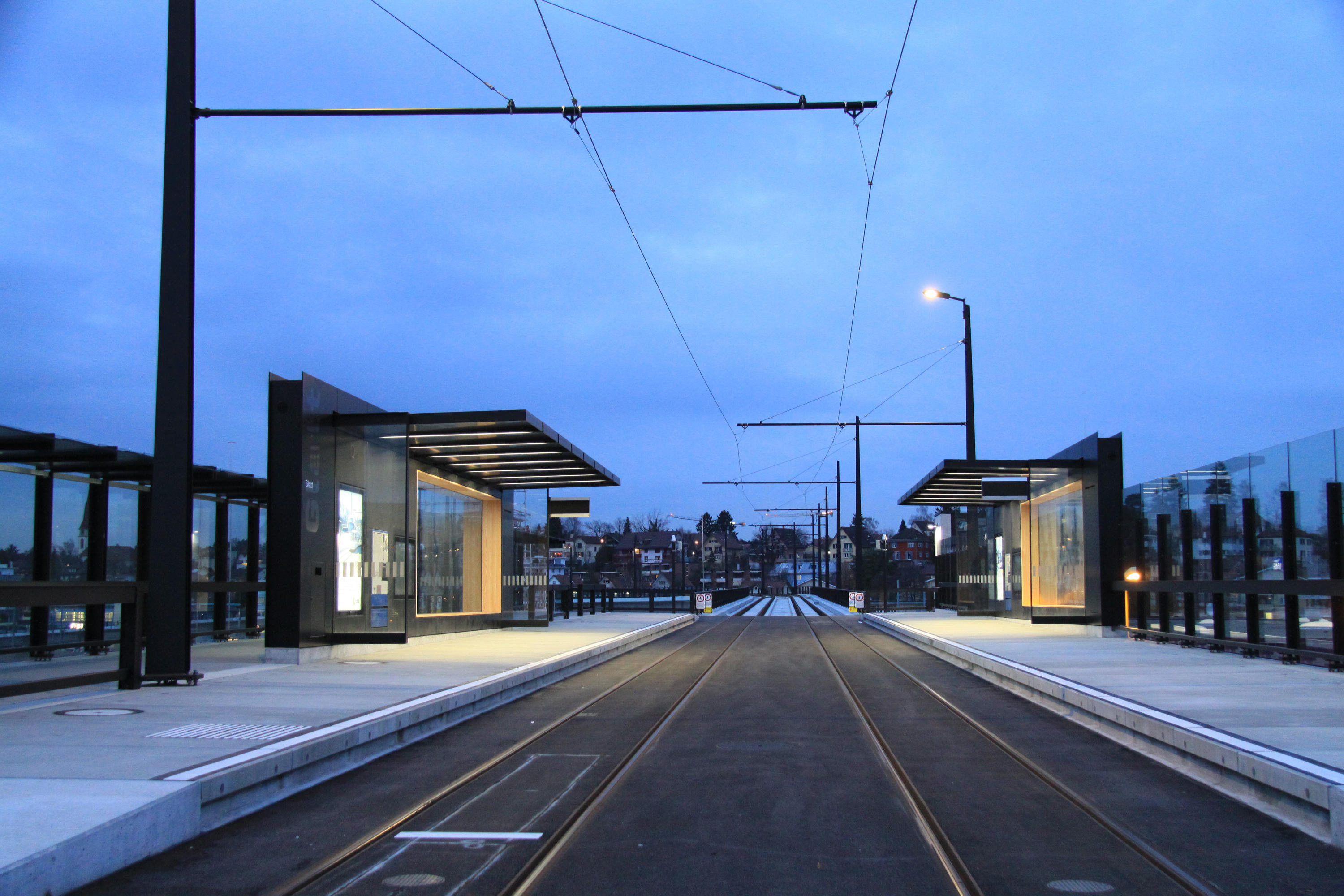 TRAM STOP INFRASTRUCTURE Bus Stop Shelters From BURRI