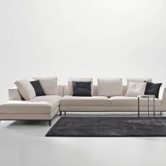 Holly Hunt Mesa Sofa Dimensions Small Size Sectional Maxalto Lucrezia Design By Antonio