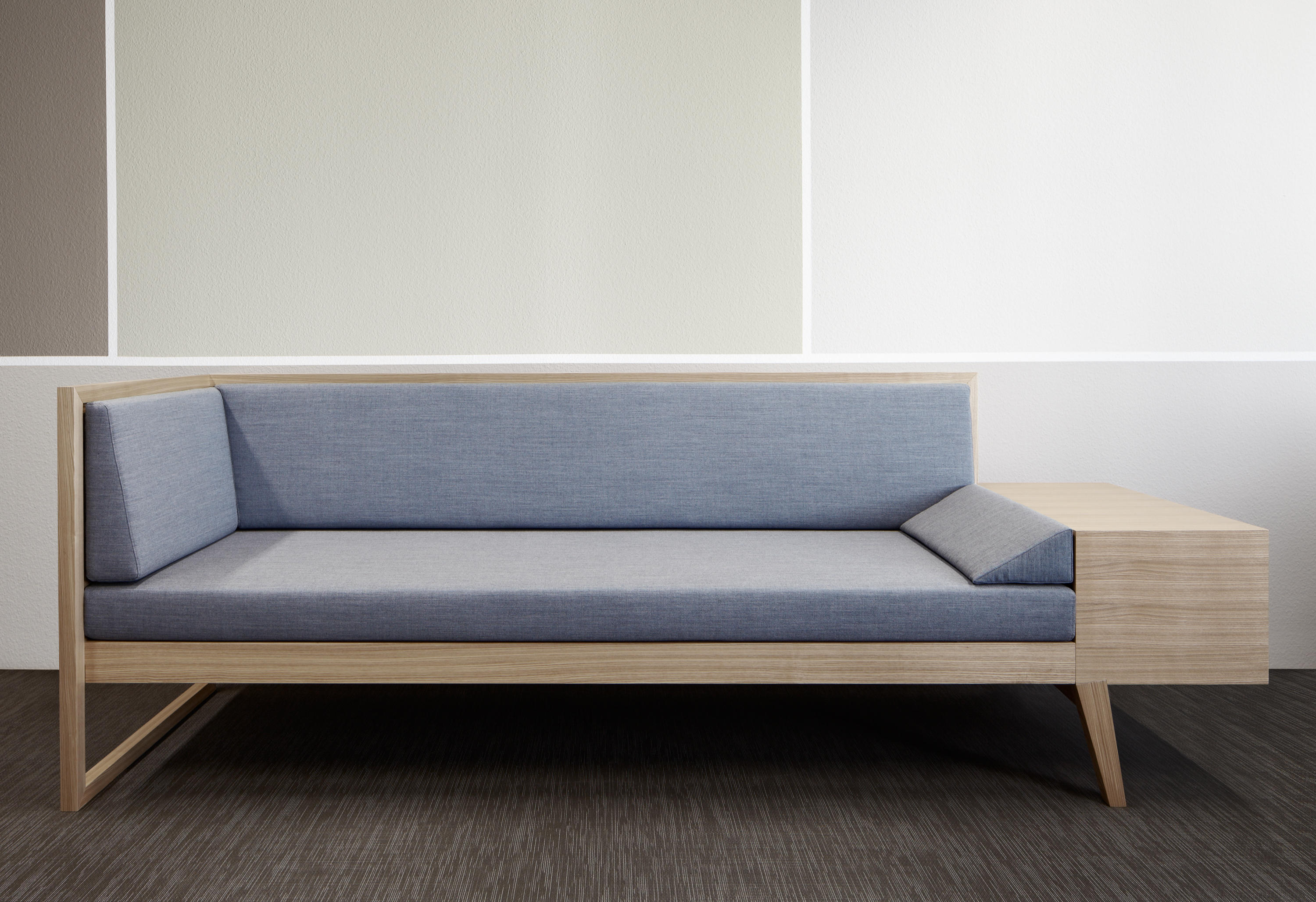 couch and sofas side sofa table with cup holder sophie beds from raum b architektur architonic