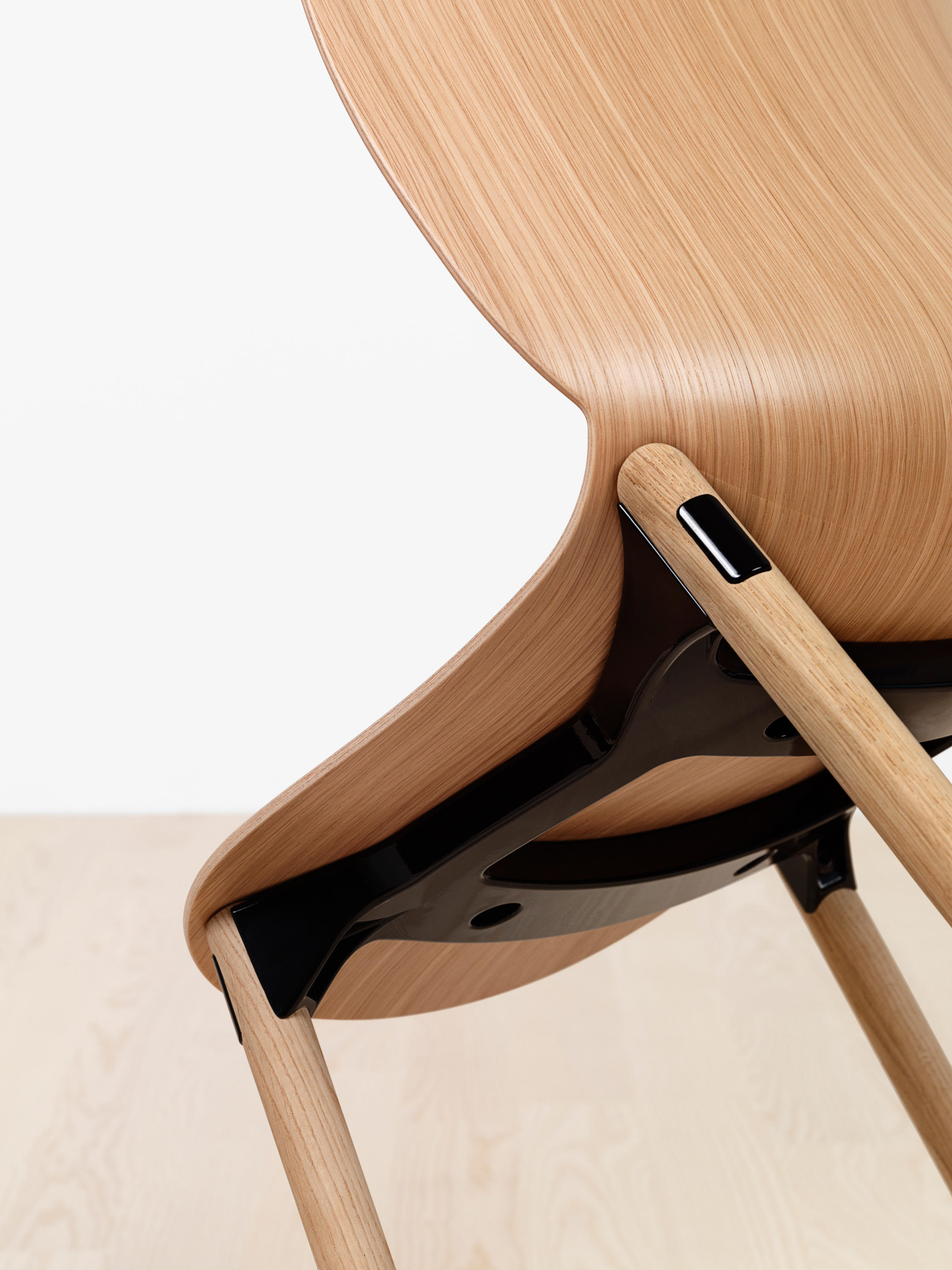 steel chair joints eclectic dining chairs rbm noor 6065 multipurpose from flokk architonic
