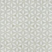 FLAPPER FLORAL BE BOP WHITE GLASS MOSAIC - Wall mosaics ...