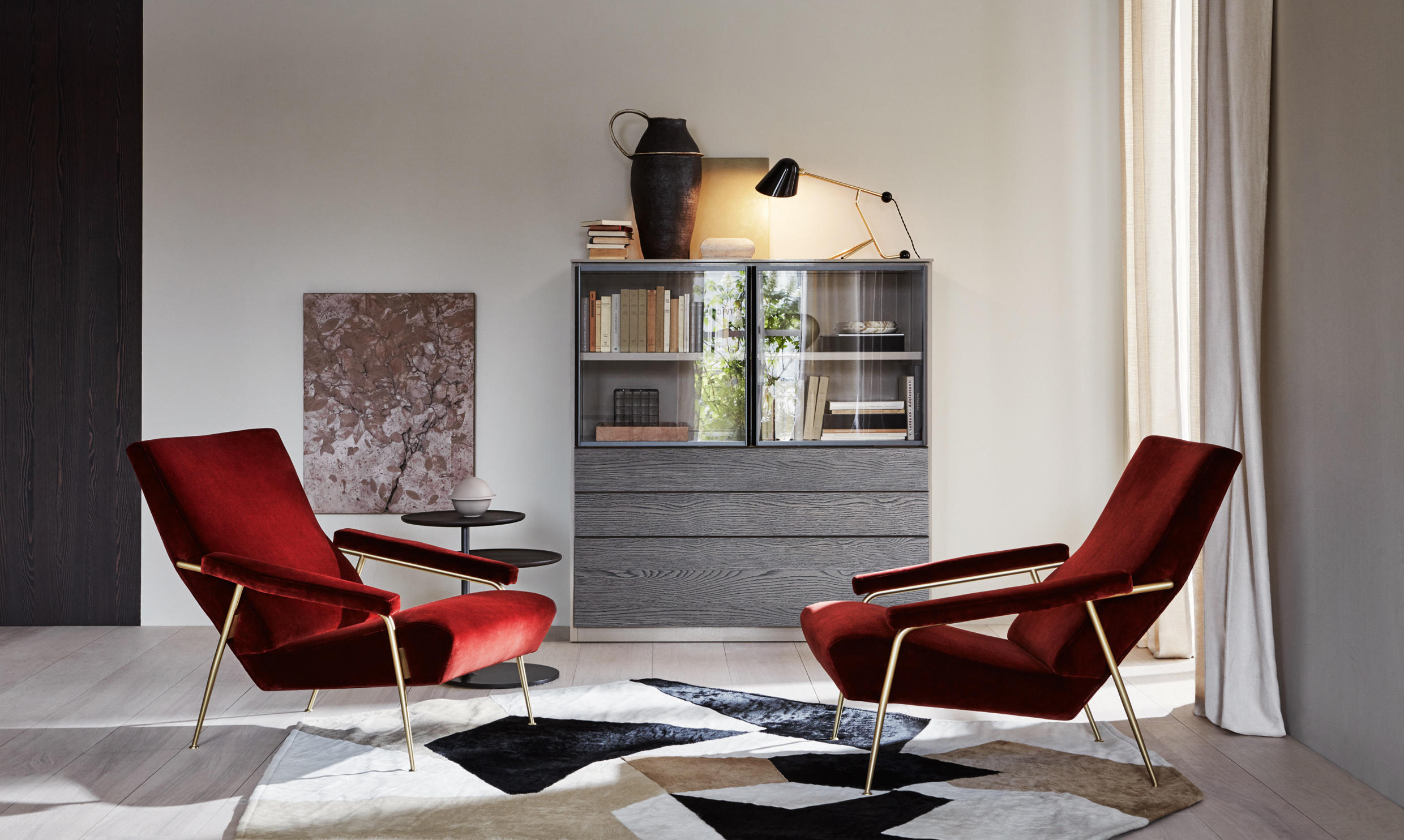 vitra office chair price wheels for legs d.153.1 armchair - armchairs from molteni & c | architonic
