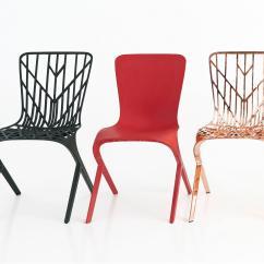 Washington Skeleton Chair Metal Kitchen Chairs Canada Aluminum Side Restaurant