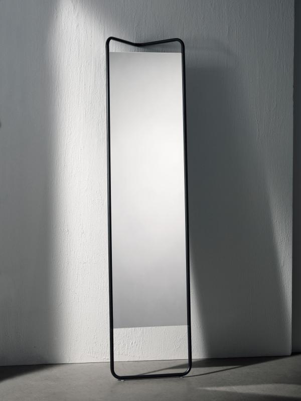 KASCHKASCH FLOOR MIRROR | BLACK - Mirrors from MENU ...