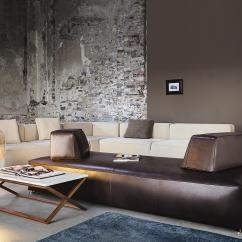 Glam Sofa Leather Chaise Bed With Storage 275 Sofas From Vibieffe Architonic