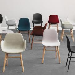 Copenhagen Dining Chairs Table Set With Form Chair Visitors Side From Normann