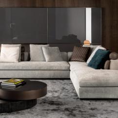Soft Sofa Material Semi Circular Sofas Sectionals Leonard - From Minotti   Architonic