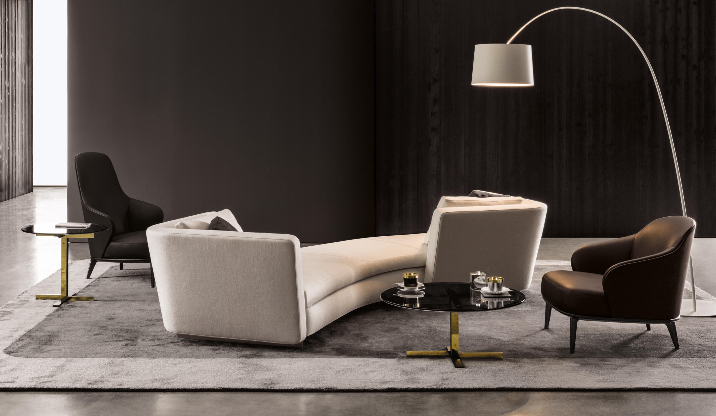 three cushion sofa living room modern designs seymour - sofas from minotti | architonic